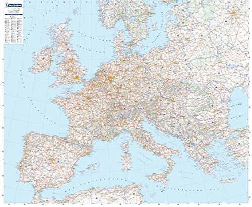 9782061009925: Mapa en tubo Europa Físico (Mapas en tubo y plastificados Michelin)