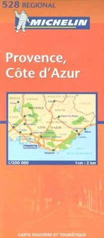 9782061010372: Michelin France, Provence/Cote D'Azur Map No. 528