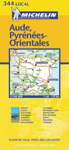 9782061011799: Aude/Pyrenees-Orientales 2003 (Michelin Local Maps)