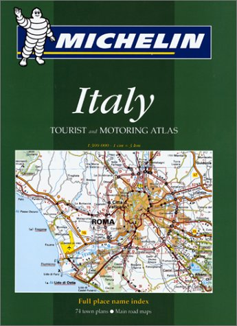 9782061465066: Michelin Italy Tourist and Motoring Atlas No. 1465 (Michelin Maps & Atlases)