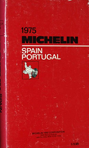 9782061571613: Michelin Red Guide: Spain and Portugal, 1975