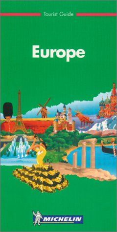 9782061591017: GROENE GIDS ENGELS EUROPE (Michelin Green Tourist Guides)