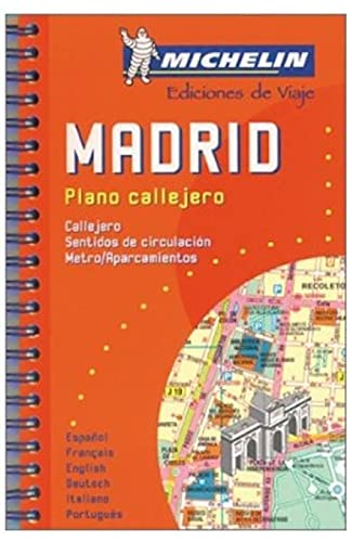 Michelin Madrid Mini-Spiral Atlas No. 2042 (Michelin: Michelin Travel Publications,