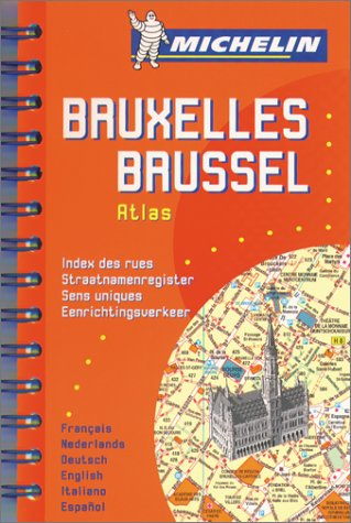 Michelin Bruxelles Brussels Atlas