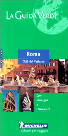 9782063539031: Roma (en italien) (GUIDES VERTS (9999)) (French Edition)