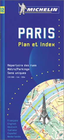 Michelin Paris Pocket Atlas Map No. 11: Michelin Travel Publications,