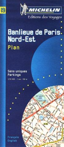 9782067000193: Banlieue de Paris : Banlieue Nord-Est, Plan, 1/15 000