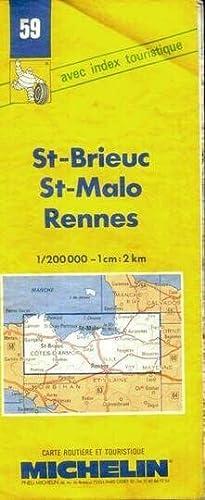 St. Brieuc-St.Malo-Rennes (Michelin Maps): Michelin Travel Publications