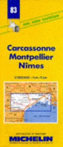 9782067000834: Carcassonne Montpellier Nîmes. 1/200 000 (Cartes routieres & touristique)