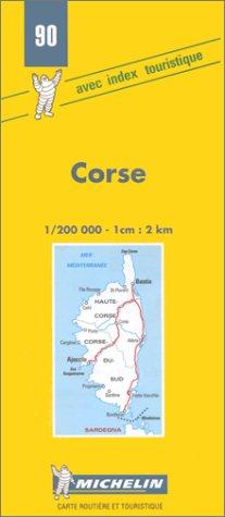 9782067000902: Corse (Michelin Maps)