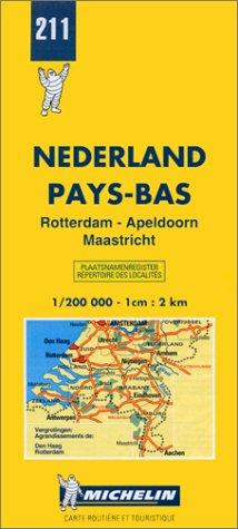 9782067002111: Nederland. Rotterdam, Apeldoorn, Maastricht 1:200.000 (Carte stradali)
