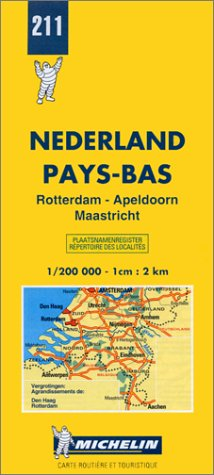 Rotterdam, Apeldoorn, Maastricht (Michelin Maps): Michelin Travel Publications