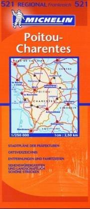 9782067002333: Carte routière : Poitou Charentes, N° 233