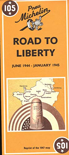 9782067002654: Michelin Road to Liberty Map No. 105