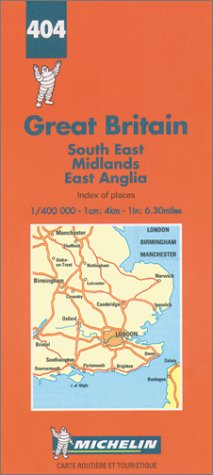 Great Britain: South East-Midlands-East Anglia (Michelin Maps): Michelin Travel Publications
