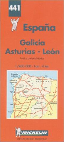 9782067004412: Espana. Galicia, Asturias, Leon 1:400.000 (Carte stradali)