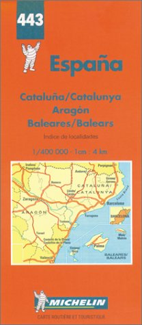 North East Spain and Balearics (Michelin Maps): Michelin Travel Publications