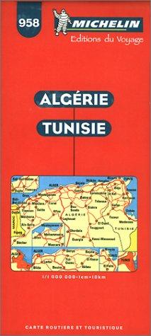 9782067009585: Carte routi�re : Alg�rie - Tunisie, 958, 1/1000000