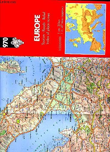 Michelin Main Road Maps : Europe/970 4th: MICHELIN