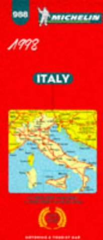 Michelin Main Road Map: Italy, Italia/No 988 (Michelin Maps)