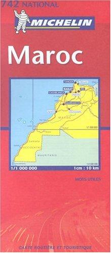 9782067100053: Michelin Maroc/Morocco