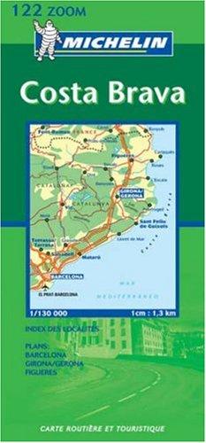 9782067100732: Costa Brava 2003 (Michelin Zoom Maps)