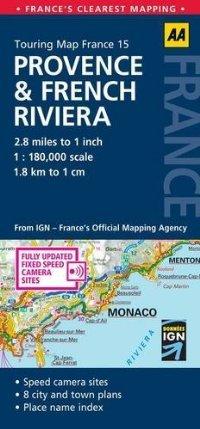 9782067100930: France. Provence, Cote d'Azur 1:200.000 (Carte zoom)