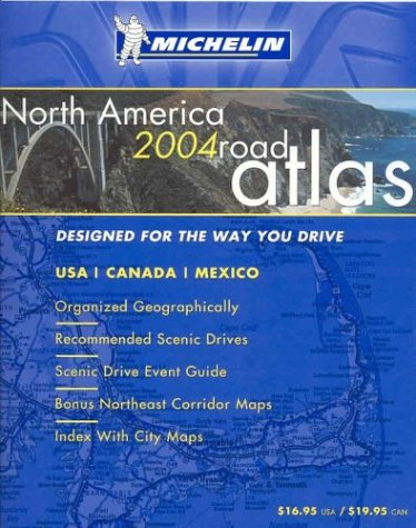 9782067101944: Michelin North America Road Atlas