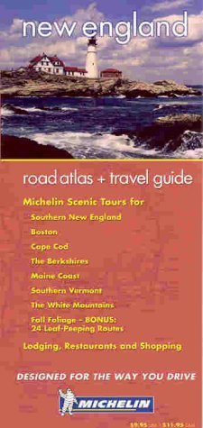 9782067102675: Michelin New England Atlas & Travel Guide