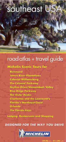 9782067102682: Michelin USA Southeast Regional Road Atlas and Travel Guide