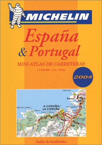 9782067105218: Espana and Portugal Mini-atlas de Carreteras 2004