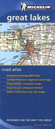 9782067107199: Michelin Great Lakes Regional Road Atlas (MICHELIN GREAT LAKES/ONTARIO REGIONAL ROAD ATLAS)