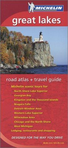 Michelin Great Lakes Road Atlas & Travel
