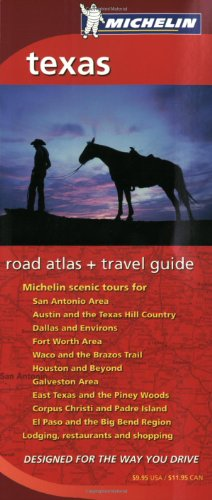 9782067107281: Michelin Texas Regional Atlas & Travel Guide (Michelin Regional Atlas & Travel Guide Texas)