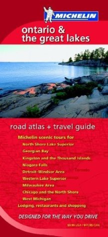 Michelin Ontario and the Great Lakes Road: Michelin Travel Publications