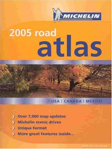 9782067109520: Michelin 2005 Road Atlas USA/Canada/Mexico