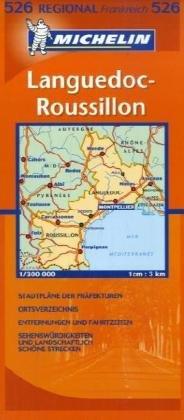 9782067110601: Michelin Regional Languedoc - Roussillon 1 : 300 000