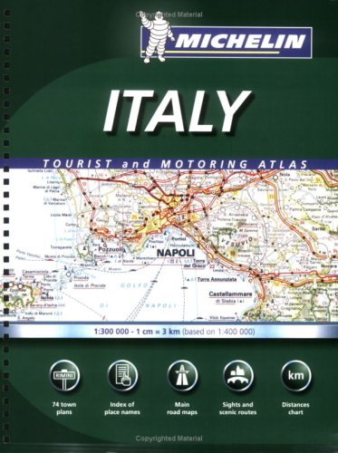 9782067112308: Michelin Italy Tourist and Motoring Atlas (Michelin Italy Tourist & Motoring Atlas) (Multilingual Edition)