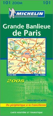 9782067113558: Carte routi�re : Grande banlieue de Paris (du p�riph�rique � la Francilienne)