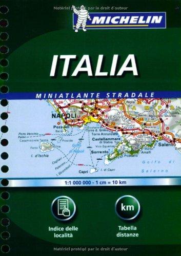 9782067113718: Michelin Miniatlante Stradale Italia (Michelin Italy Atlas) (Italian Edition)