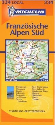 9782067114128: Französische Alpen Süd 1 : 150 000