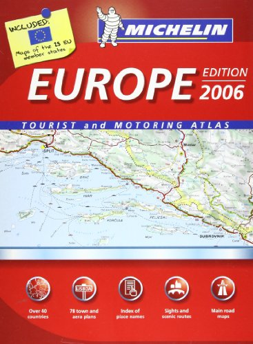 9782067116863: Europe Atlas 2006 (Michelin Tourist and Motoring Atlases)