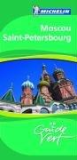 9782067118461: Michelin Moscou St. Petersbourg. Französische Ausgabe