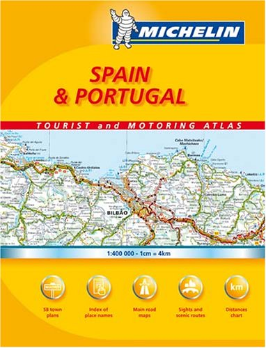 Michelin Spain & Portugal Tourist and Motoring Atlas (Michelin Tourist and Motoring Atlas)