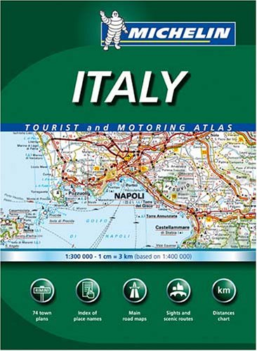 9782067118669: Michelin Italy Tourist and Motoring Atlas (Michelin Italy Tourist & Motoring Atlas) (Italian Edition)