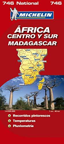9782067119055: Mapa National Africa Centro-Sur, Madagascar