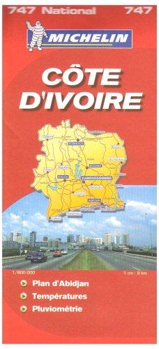 9782067119086: C�te d'Ivoire : 1/800 000