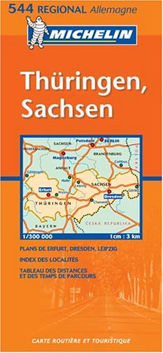 Michelin Germany Mideast: Allemagne Centre-Est (Michelin Map): Michelin