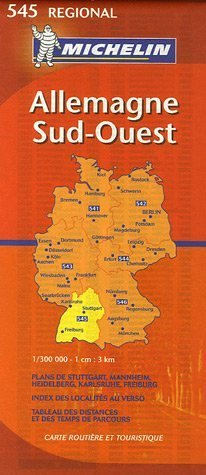 9782067119956: Allemagne Sud-Ouest : 1/300 000