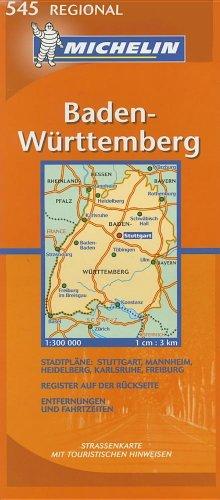 9782067119963: Baden-Wurttemberg (Michelin Regional Deutschland) (German Edition)